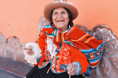Old Lady in Pisac-