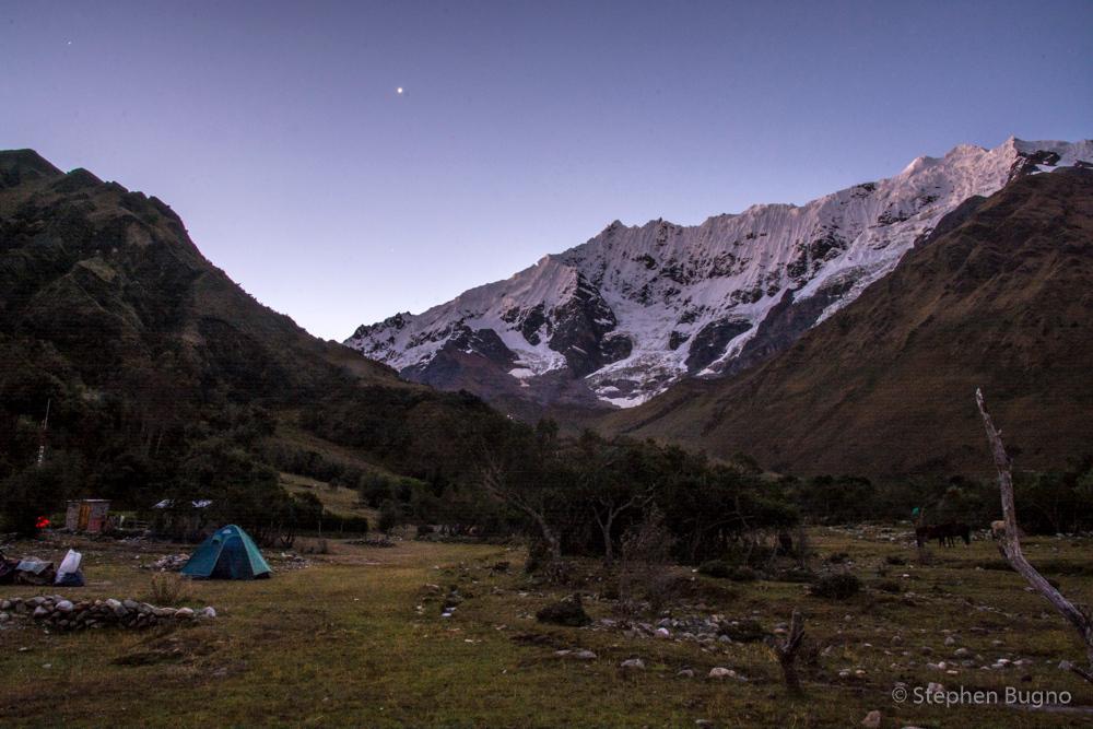 Salkantay Trek Peru Day One
