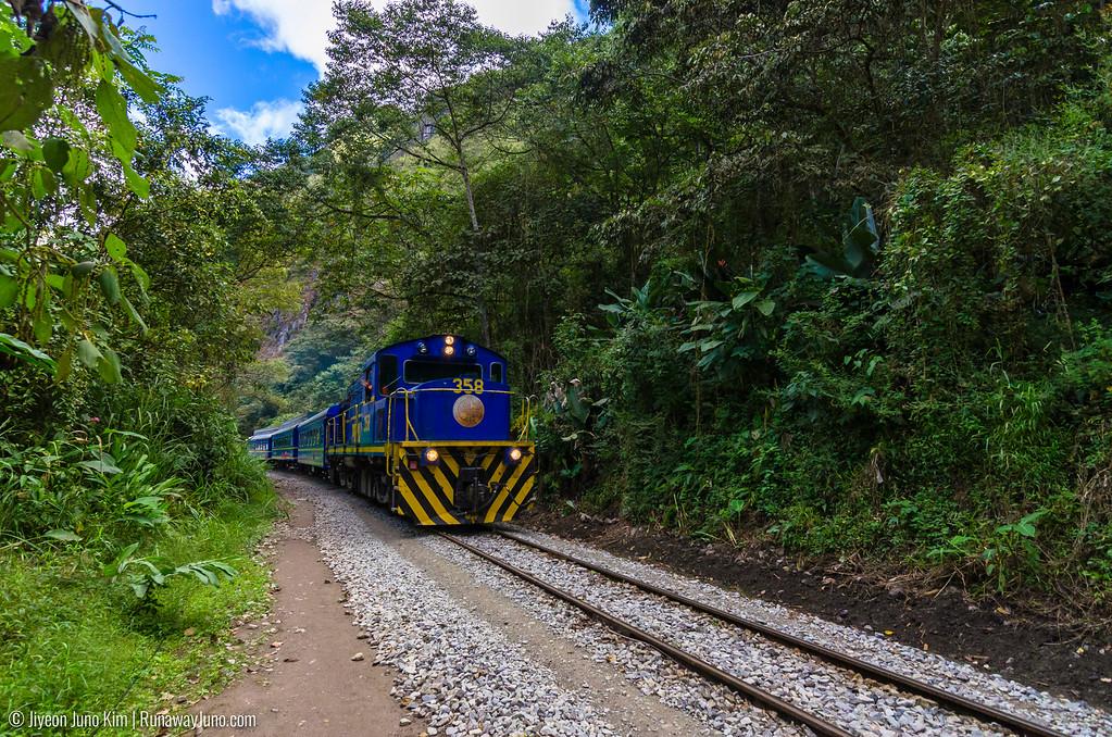 PeruRail to Machu Picchu