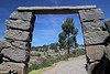 Titicaca 5412<br /> Pathway from Port Alsuno up to the village on Taquile Island.
