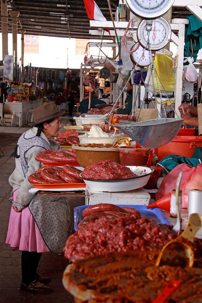 Cusco 5123<br /> Cusco Market where where locals will go to get their every day needs.