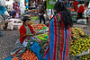 Pisac 3942<br /> Pisac open air market.