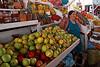 Cusco 5143<br /> Fruit vender at the Cusco Market
