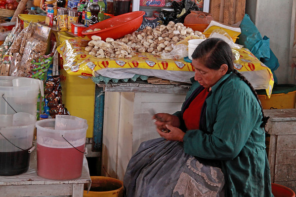 Cusco 5132<br /> Cusco Market where where locals will go to get their every day needs.