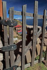 Titicaca 5480<br /> Gate to house on Taquile Island.
