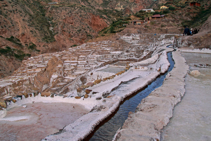 Salineras 4502<br /> Canal bringing wter in to the various Salt pools.
