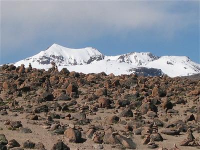 Andes hoogvlakte, Sibayo, Peru.