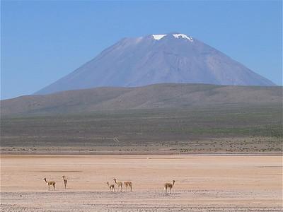 Volcan El Misti, Peru.