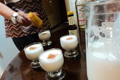lima pisco sour cantalope