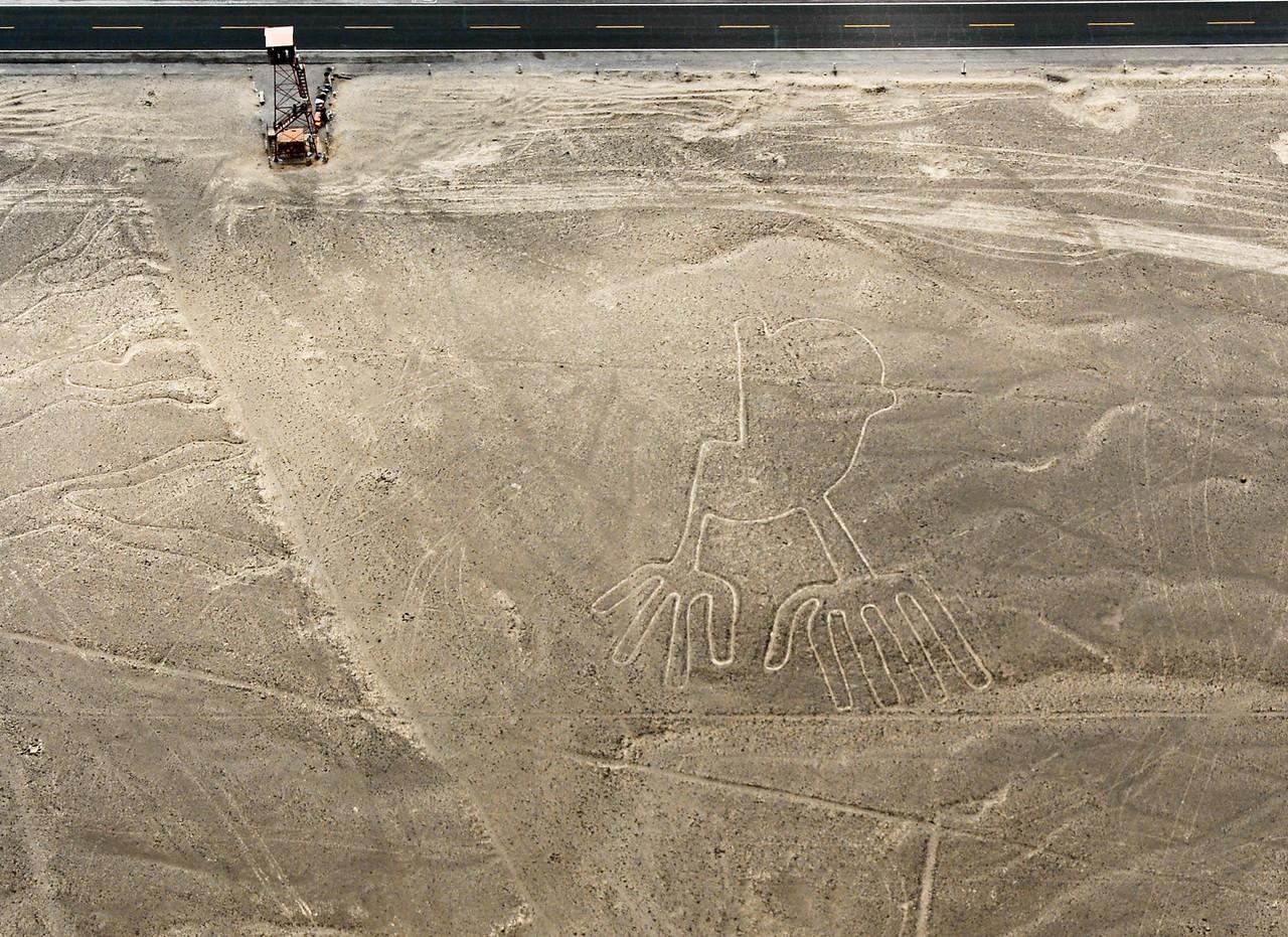 Nazca Lines Hands