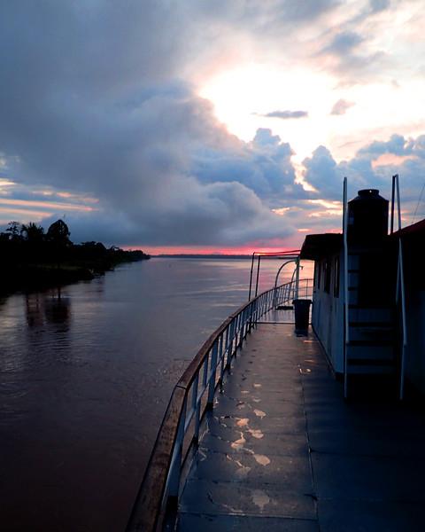 Dawn steaming up the Maranon