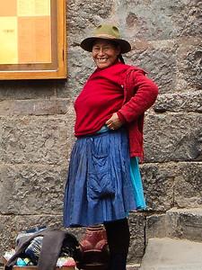 cusco woman