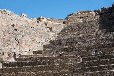 Ruins at Ollantaytambo