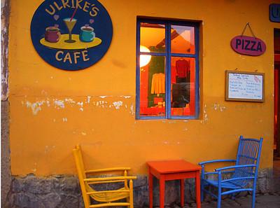 cafe, Pisac