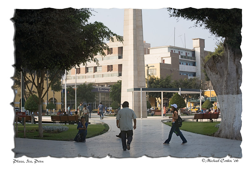 Plaza, Ica, Peru #2