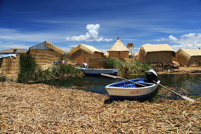 Uros Reed Islands, Lake Titikaka, Peru