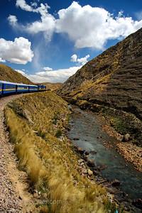 Andean Explorer Train from Cusco to Puno, Peru