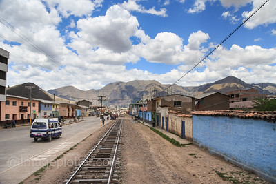 Small town in the Andean Highlands, Peru