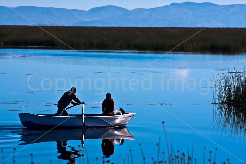 On Lake Titicaca
