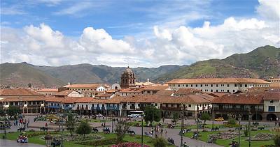 Plaza de Armas. Cuzco, Peru.