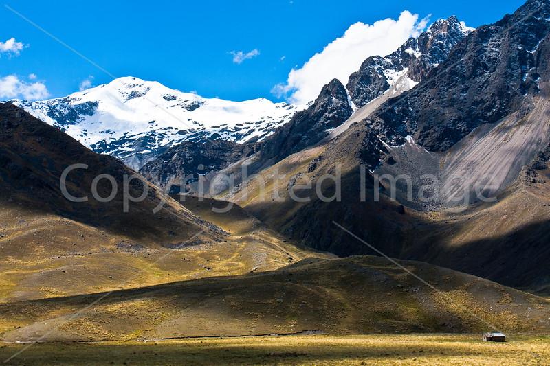 Mountains at La Raya