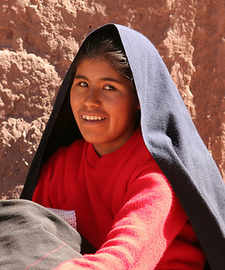 girl of Taquile, Lake Titicaca, Peru