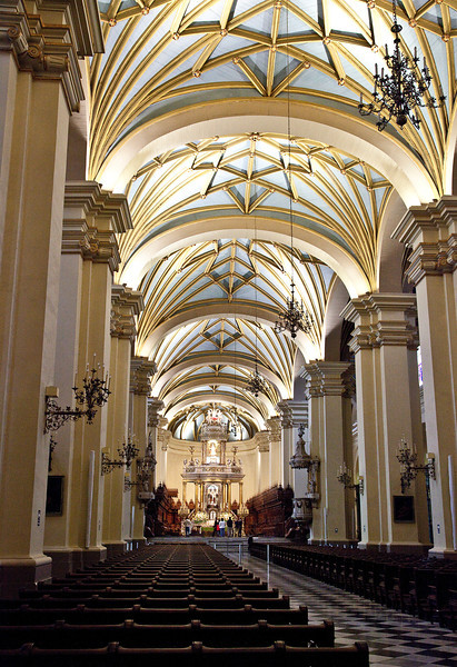 The Cathedral of Lima, Peru