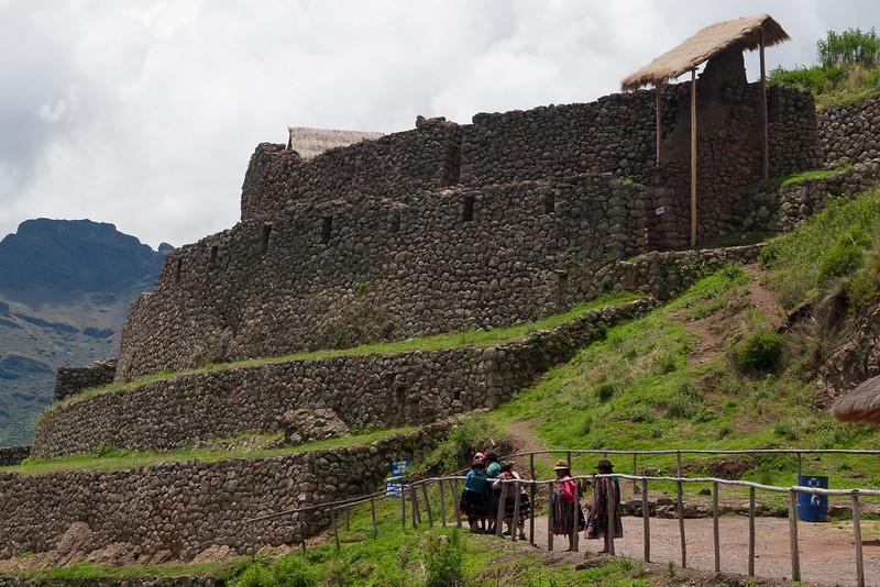 Pisac - site of Inca ruins.