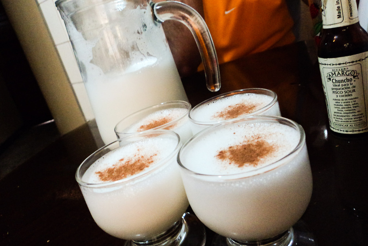 lima pisco sour finished