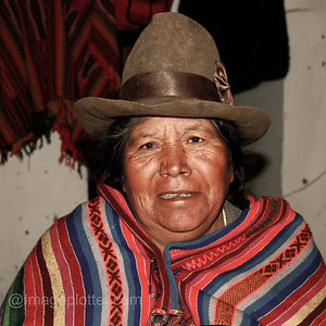 Shop Owner, Chinchero, Peru
