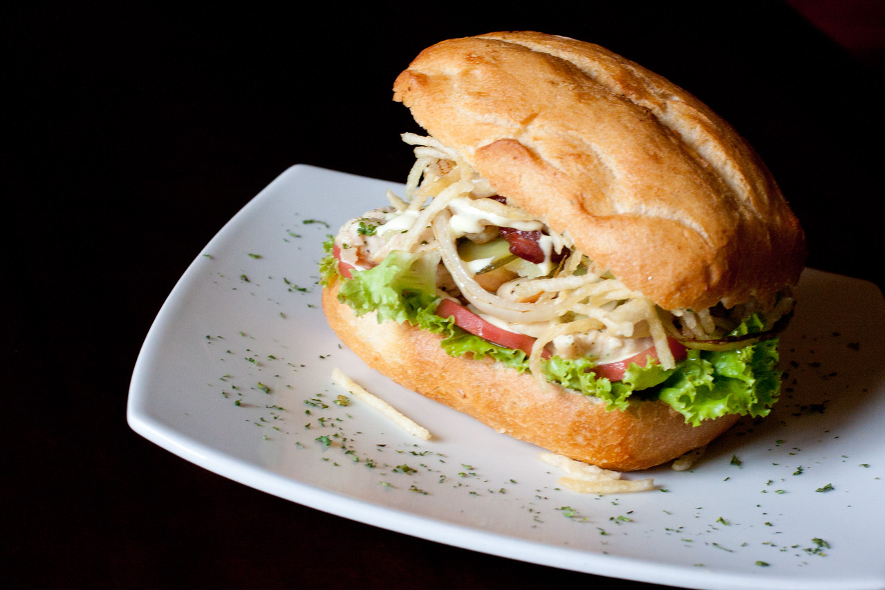 cusco grilled chicken sandwich
