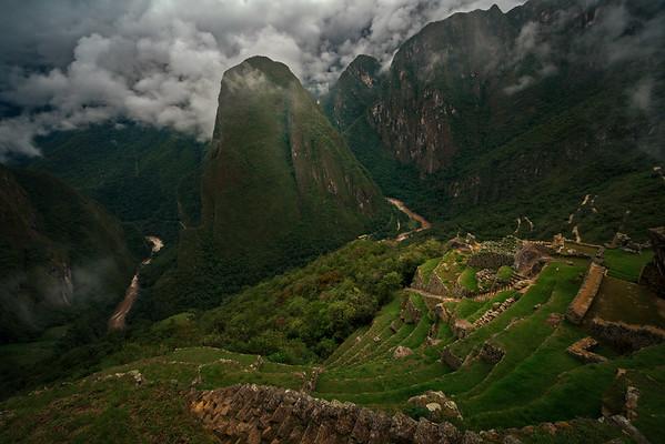 Machu Picchu's Eastern Flanks