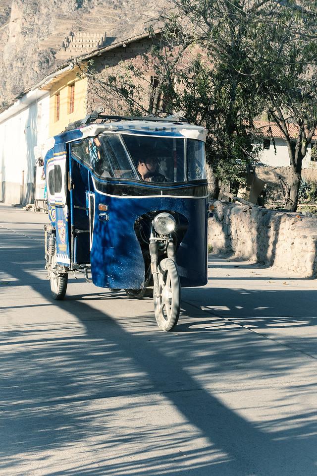 Taxi - Ollantaytambo