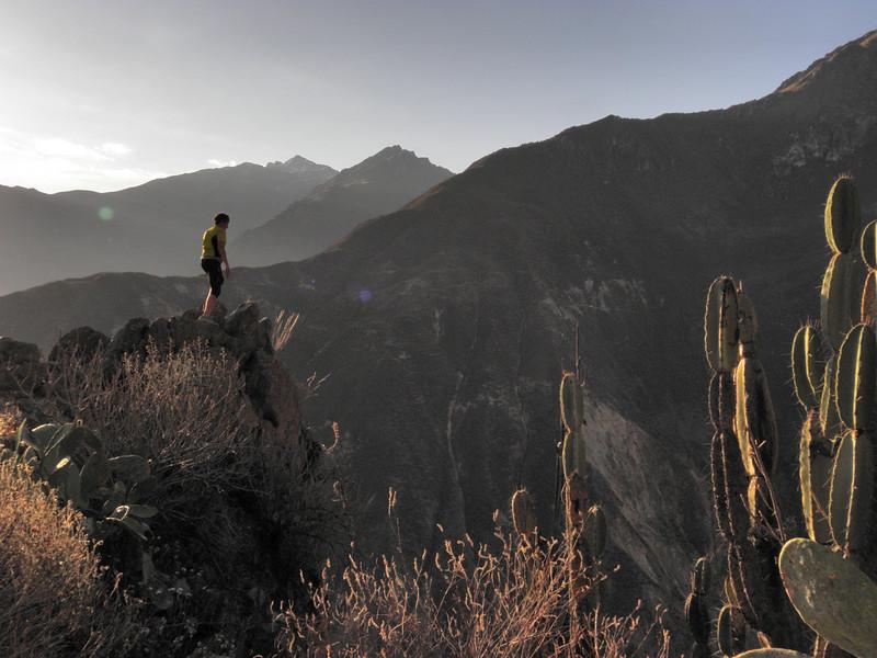 Vistas desde el Cañon del Colca