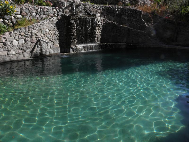 Oasis paraiso de Sangalle, en medio del cañón semidesértico del Colca. Segundo cañón más profundo del mundo.
