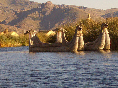 reed villages, Lake Titicaca, Peru