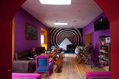 cusco yamana hostel common room