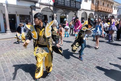 Street Festival.  Cuzco.
