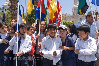 School Children in Arequipa, Peru
