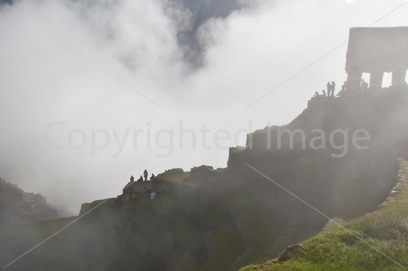 Machu Picchu fog