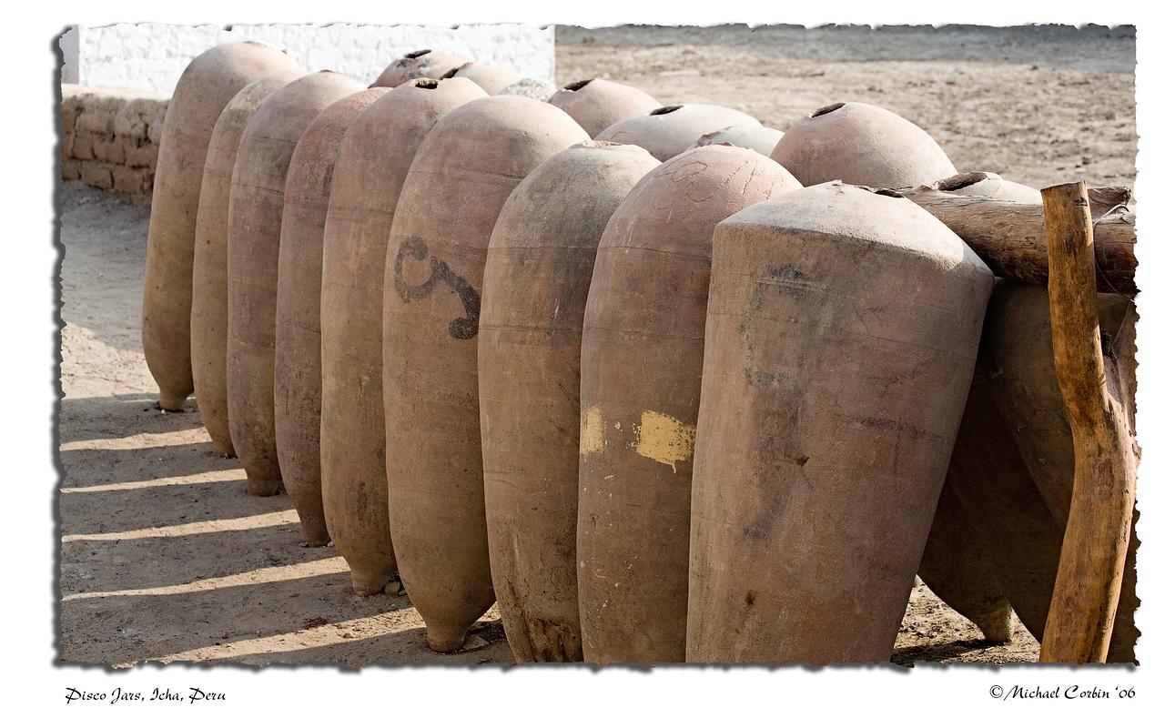 Pisco Jars, Icha, Peru