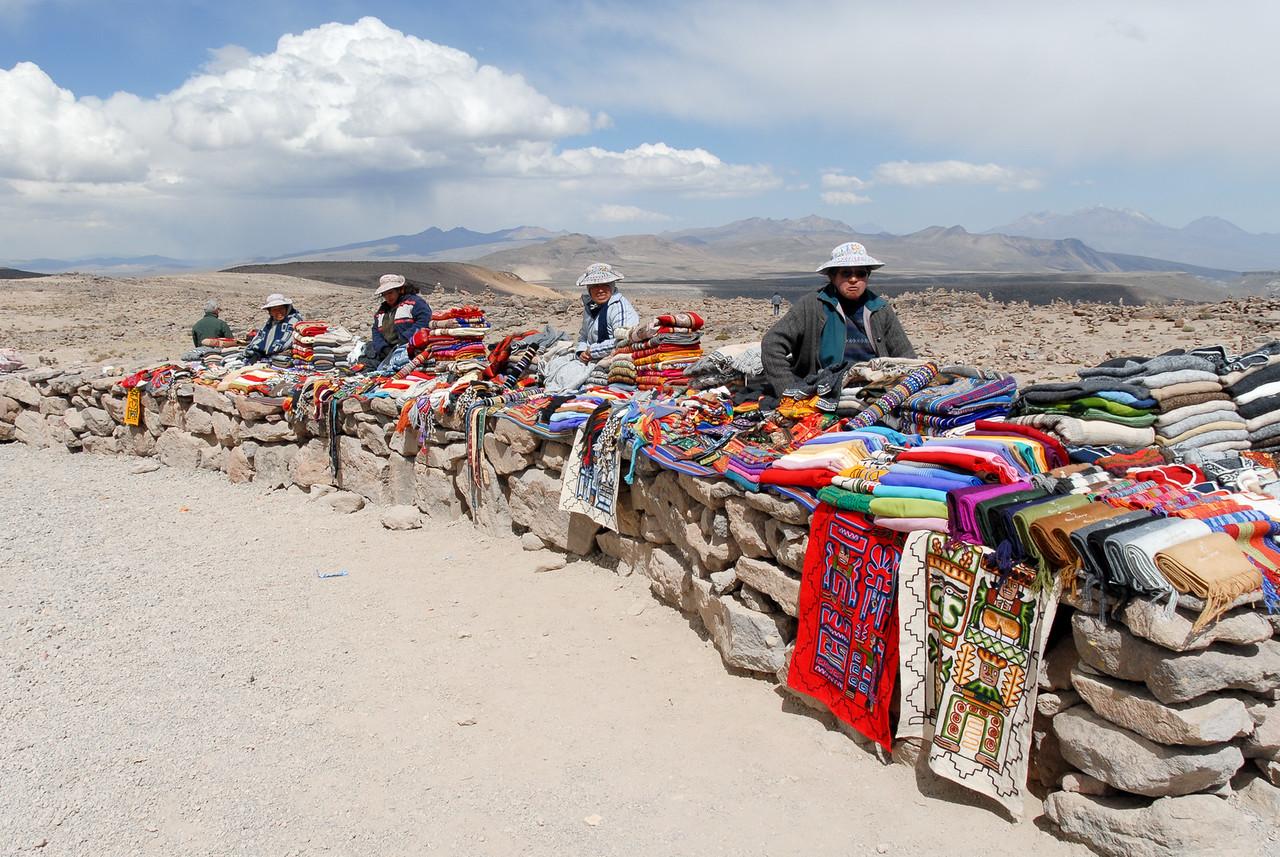 Vendors Selling Local Crafts, Peru