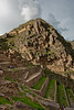 Ollantaytambo ruins and terraces.