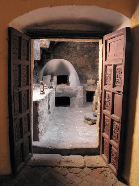 Cada religiosa del convento disponía de una casa propia dentro con cocina, baño y servicio doméstico.
