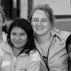 Hannah, Amanda and girls Bella Union, Peru