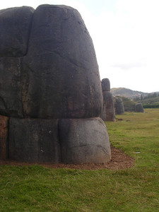 HOW did they move these huge rocks around?