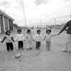 Preschool children streets of Bella Union, Peru