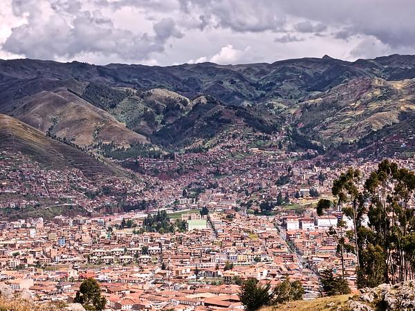 Cusco City Overlook