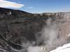 Cráter del Misti con las fumarolas.