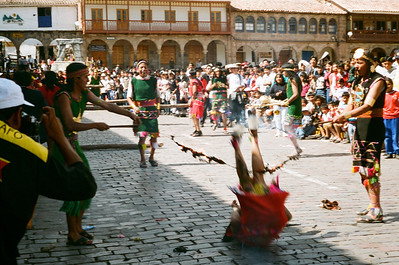 Fiesta on Plaza de Armas